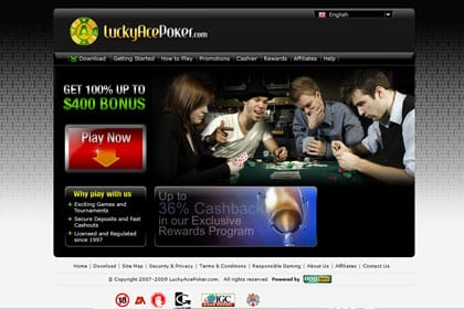 lucky ace poker no deposit bonus