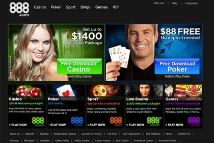 888 poker game types